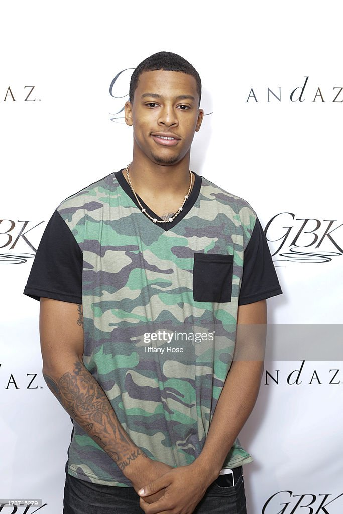Professional athlete Trey Burke attends GBK's Poker And Gift Pre-ESPY Lounge at Andaz Hotel on July 16, 2013 in Los Angeles, California.