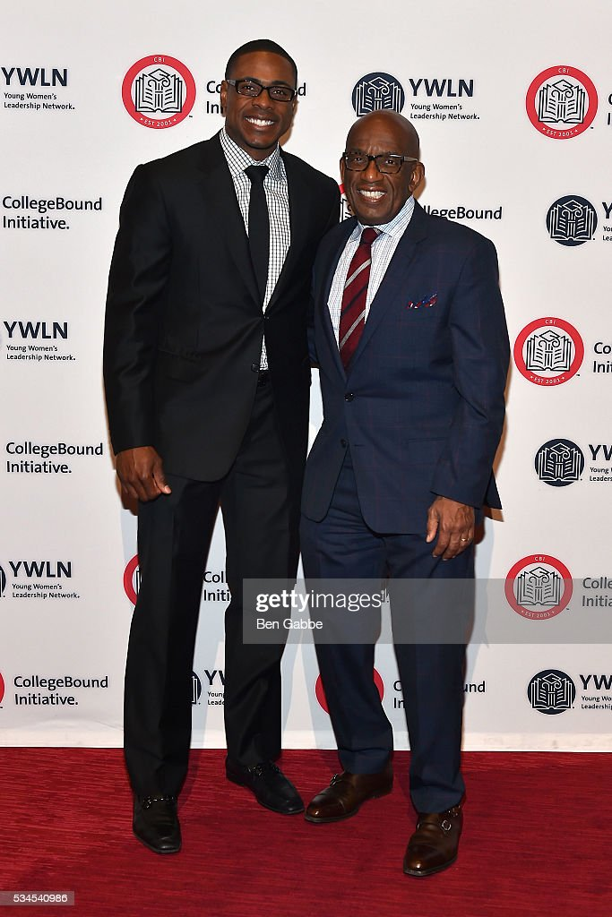 Professional baseball player <a gi-track='captionPersonalityLinkClicked' href=/galleries/search?phrase=Curtis+Granderson&family=editorial&specificpeople=546997 ng-click='$event.stopPropagation()'>Curtis Granderson</a> (L) TV personality <a gi-track='captionPersonalityLinkClicked' href=/galleries/search?phrase=Al+Roker&family=editorial&specificpeople=206153 ng-click='$event.stopPropagation()'>Al Roker</a> attend the 2016 CollegeBound Initiative Celebration at Jazz at Lincoln Center on May 26, 2016 in New York City.