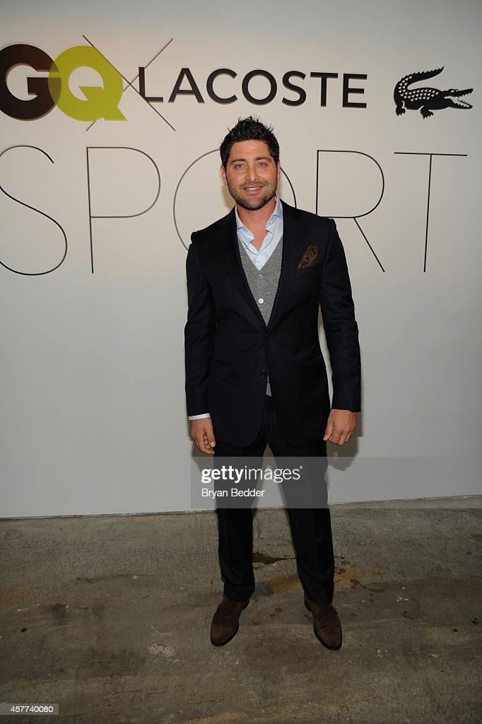 Professional baseball player <a gi-track='captionPersonalityLinkClicked' href=/galleries/search?phrase=Francisco+Cervelli&family=editorial&specificpeople=4172506 ng-click='$event.stopPropagation()'>Francisco Cervelli</a> attends GQ X Lacoste Celebrate Sport pop-up shop opening in NYC hosted by Paul Wesley on October 23, 2014 in New York City.
