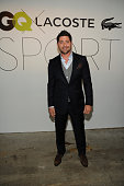 Professional baseball player Francisco Cervelli attends GQ X Lacoste Celebrate Sport popup shop opening in NYC hosted by Paul Wesley on October 23...