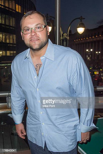 Professional baseball player Joba Chamberlain attends the 7th Annual BNP Paribas Showdown Announcement at Local West on August 19 2013 in New York...
