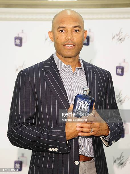 Professional Baseball Player Mariano Rivera appears for The Mariano Rivera Signature Limited Edition EDT At Lord Taylor on June 21 2013 in New York...