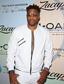 Professional basketball player and founder of Active Dreamers Jack McClinton attends the Coach Woodson Las Vegas Invitational red carpet and pairings...