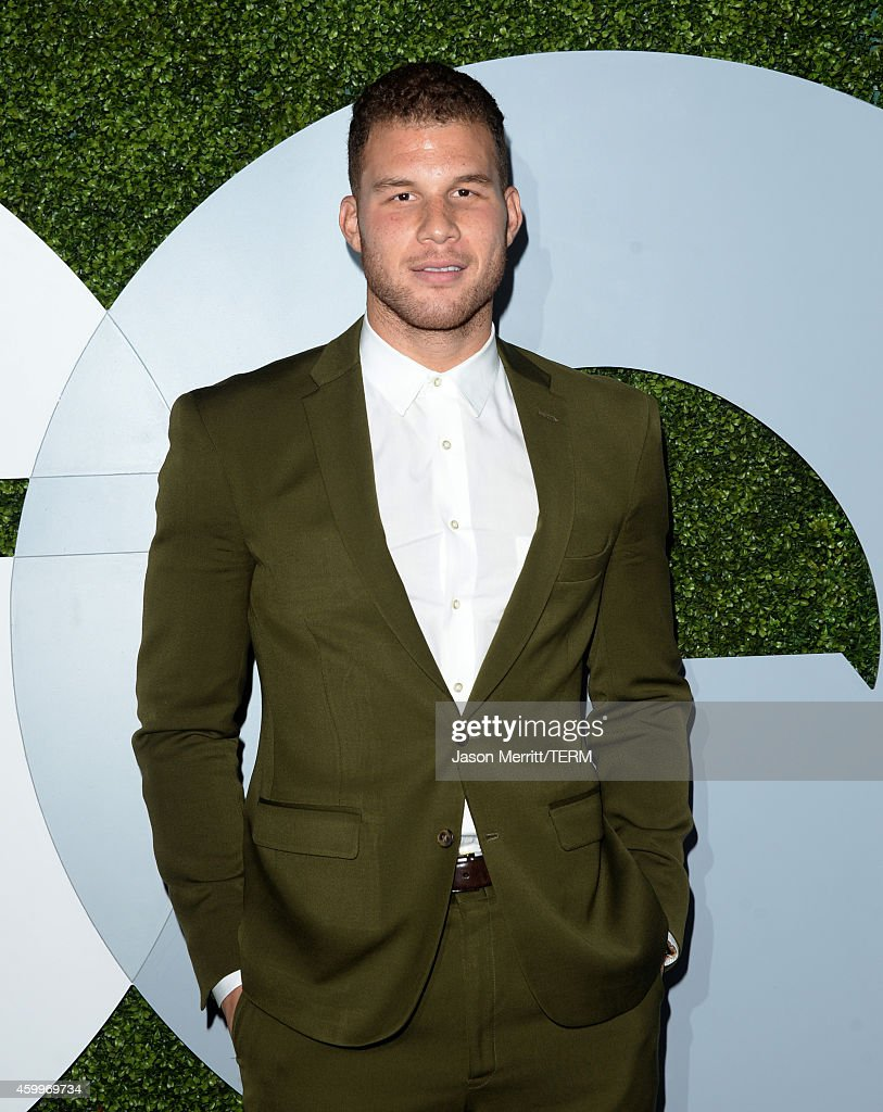 Professional basketball player <a gi-track='captionPersonalityLinkClicked' href=/galleries/search?phrase=Blake+Griffin+-+Basketball+Player&family=editorial&specificpeople=4216010 ng-click='$event.stopPropagation()'>Blake Griffin</a> attends the 2014 GQ Men Of The Year party at Chateau Marmont on December 4, 2014 in Los Angeles, California.