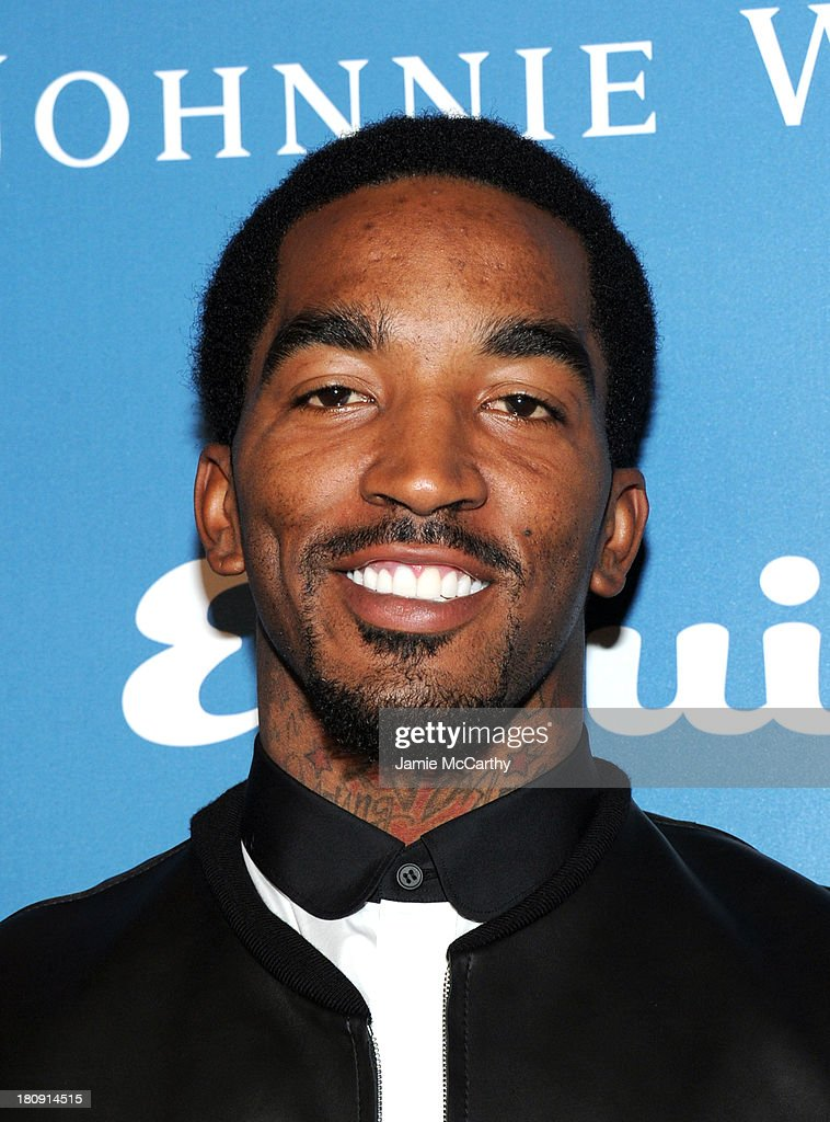 Professional basketball player J. R. Smith attends the Esquire 80th anniversary and Esquire Network launch celebration at Highline Stages on September 17, 2013 in New York City.