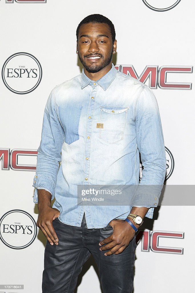 Professional basketball player John Wall arrives at ESPN the Magazine's 'Body Issue' 5th annual ESPY's event at Lure on July 16, 2013 in Hollywood, California.