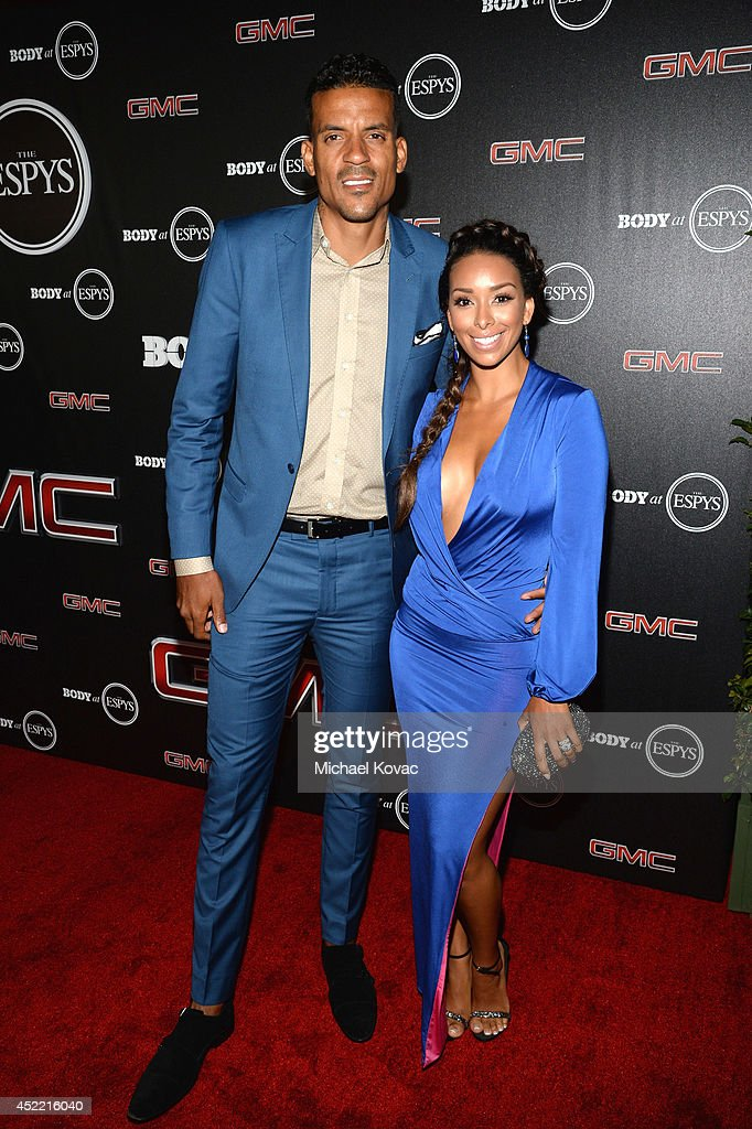 Professional basketball player <a gi-track='captionPersonalityLinkClicked' href=/galleries/search?phrase=Matt+Barnes+-+Basketball+Player&family=editorial&specificpeople=202880 ng-click='$event.stopPropagation()'>Matt Barnes</a> and <a gi-track='captionPersonalityLinkClicked' href=/galleries/search?phrase=Gloria+Govan&family=editorial&specificpeople=7070564 ng-click='$event.stopPropagation()'>Gloria Govan</a> attend the Body at ESPYS Pre-Party at Lure on July 15, 2014 in Hollywood, California.