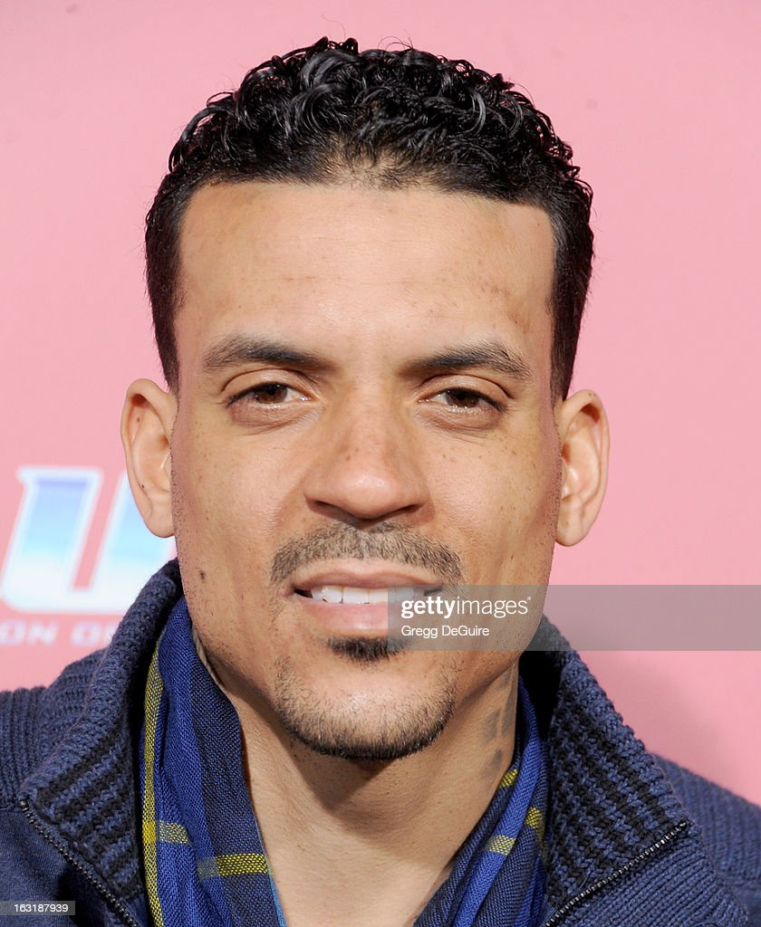 Professional basketball player <a gi-track='captionPersonalityLinkClicked' href=/galleries/search?phrase=Matt+Barnes+-+Basketball+Player&family=editorial&specificpeople=202880 ng-click='$event.stopPropagation()'>Matt Barnes</a> arrives at the Los Angeles premiere of 'The Call' at ArcLight Hollywood on March 5, 2013 in Hollywood, California.