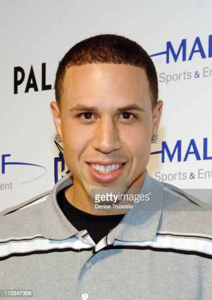 Professional basketball player Mike Bibby arrives at Gavin Maloof's housewarming party at his private residence on October 25 2007 in Las Vegas Nevada