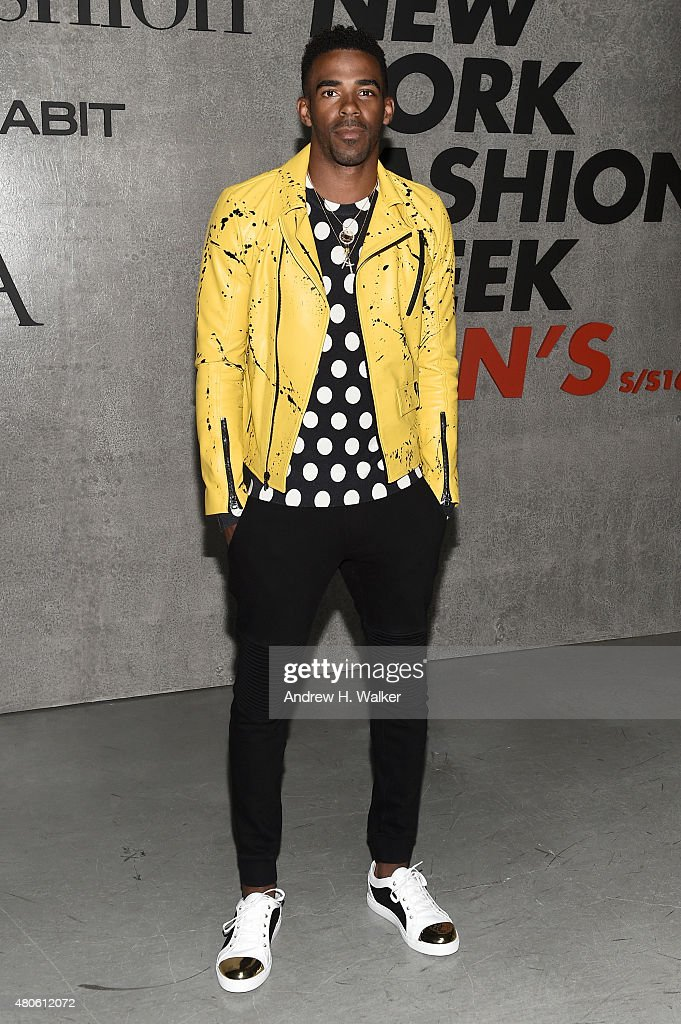 Professional Basketball Player Mike Conley attends the opening event for New York Fashion Week: Men's S/S 2016 at Amazon Imaging Studio on July 13, 2015 in Brooklyn, New York.