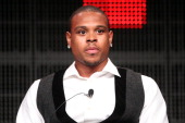 Professional basketball player Shannon Brown speaks during ESPN portion of the 2011 Summer TCA Tour at the Beverly Hilton on July 27 2011 in Beverly...