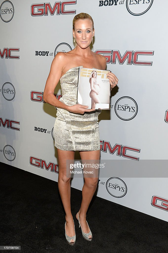 Professional beach volleyball playe Kerri Walsh Jennings attends ESPN the Magazine 5th annual 'Body Issue' party at Lure on July 16, 2013 in Hollywood, California.