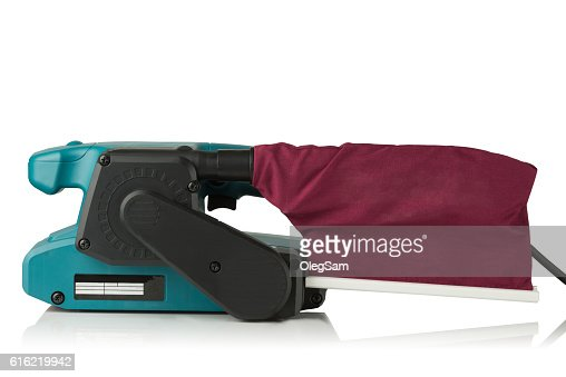 professional belt sander : Stock Photo