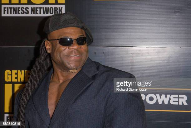 Professional bodybuilder Kai Greene arrives to attend the premiere of 'Generation Iron 2' QA at National Exhibition Centre on May 12 2017 in...