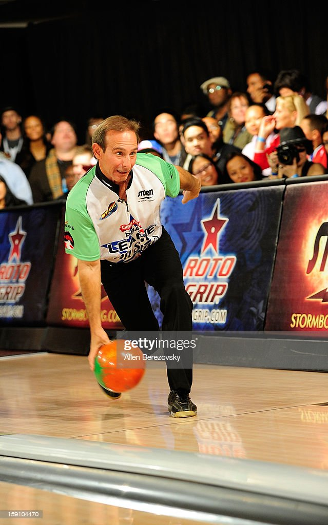 Professional bowler Norm Duke bowls at the 5th annual Chris Paul PBA All-Stars Invitational hosted by LA Clippers star guard Chris Paul at Lucky Strike Lanes at L.A. Live on January 7, 2013 in Los Angeles, California.