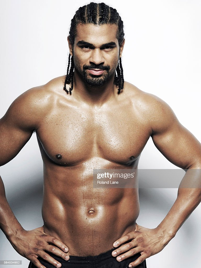 Professional boxer David Haye is photographed on October 27, 2011 in London, England.
