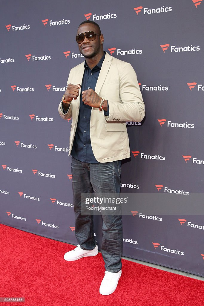 Professional boxer <a gi-track='captionPersonalityLinkClicked' href=/galleries/search?phrase=Deontay+Wilder&family=editorial&specificpeople=4665809 ng-click='$event.stopPropagation()'>Deontay Wilder</a> attends Fanatics Super Bowl Party on February 6, 2016 in San Francisco, California.