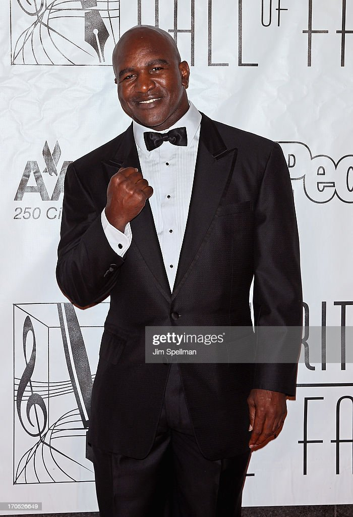 Professional Boxer Evander Holyfield attends the 2013 Songwriters Hall Of Fame Gala at Marriott Marquis Hotel on June 13, 2013 in New York City.