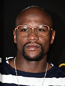 Professional boxer Floyd Mayweather Jr arrives at the launch of OUE Skyspace LA at the US Bank Tower on July 14 2016 in Los Angeles California