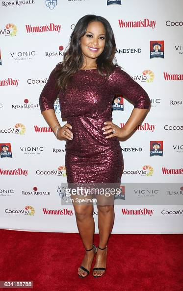 Professional boxer Laila Ali attends the 14th annual Woman's Day Red Dress Awards at Jazz at Lincoln Center on February 7 2017 in New York City