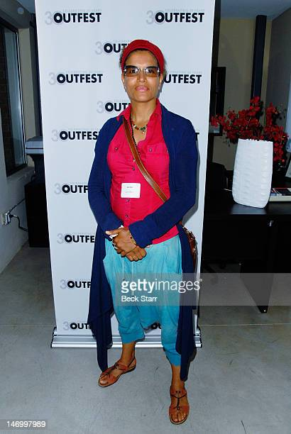 Professional boxer Lucia Rijker attends 'Outfest VIP Women's Soiree' at Gallery Lofts on June 24 2012 in Los Angeles California