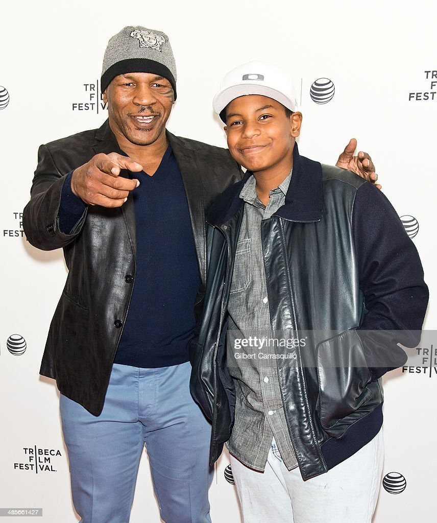 Mike Tyson Son Boxing