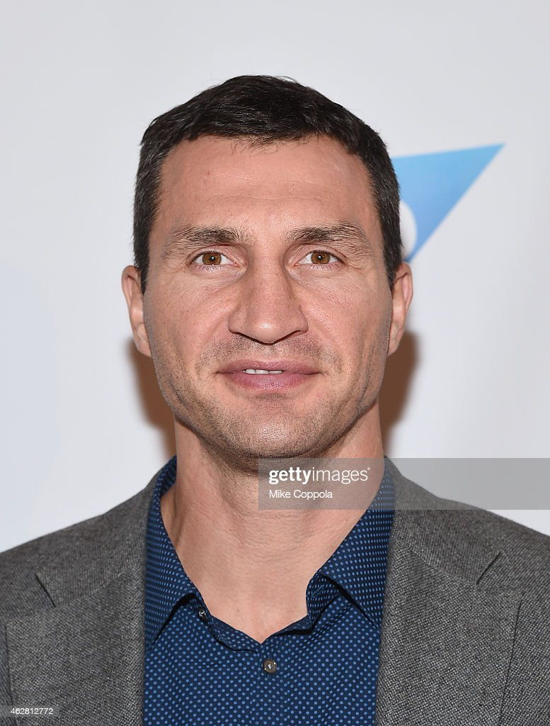 Professional boxer <a gi-track='captionPersonalityLinkClicked' href=/galleries/search?phrase=Wladimir+Klitschko&family=editorial&specificpeople=210650 ng-click='$event.stopPropagation()'>Wladimir Klitschko</a> attends MSG Networks Original Programming Party at Madison Square Garden on February 5, 2015 in New York City.