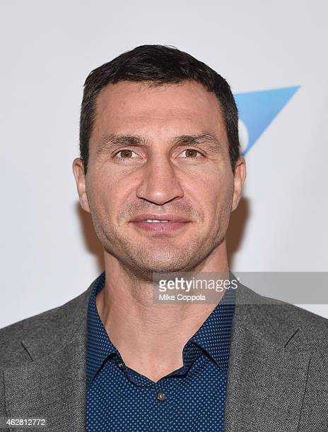 Professional boxer Wladimir Klitschko attends MSG Networks Original Programming Party at Madison Square Garden on February 5 2015 in New York City