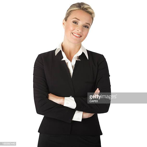 Professional Businesswoman On A White Background