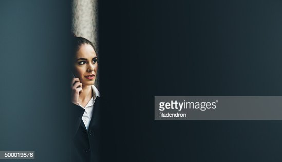 Professional Businesswoman On The Phone