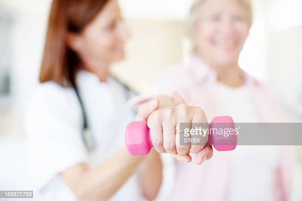 Professional care and rehabilitation - Senior Health