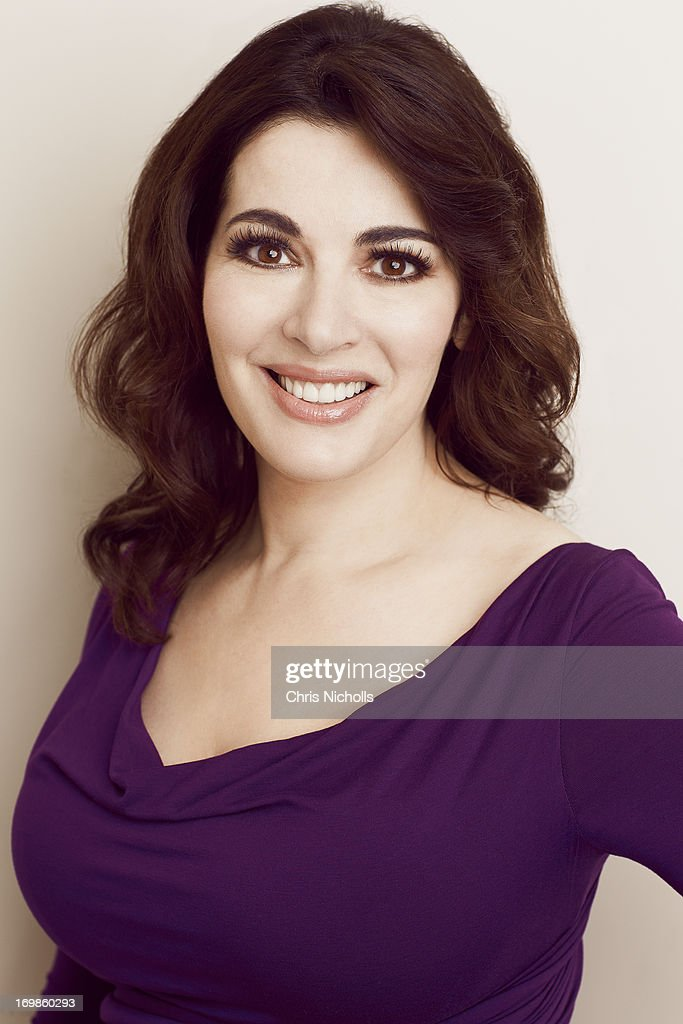 Professional chef and TV personality <a gi-track='captionPersonalityLinkClicked' href=/galleries/search?phrase=Nigella+Lawson&family=editorial&specificpeople=209173 ng-click='$event.stopPropagation()'>Nigella Lawson</a> is photographed for Hello - Canada on February 19, 2013 in Toronto, Ontario.