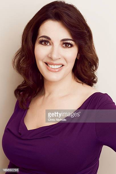 Professional chef and TV personality Nigella Lawson is photographed for Hello Canada on February 19 2013 in Toronto Ontario