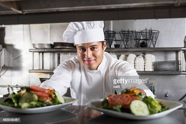 Professional chef in kitchen