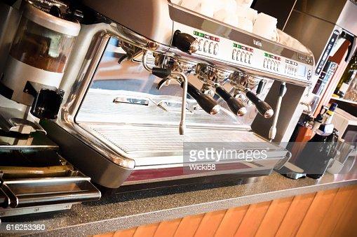 Profesional equipo de café : Foto de stock