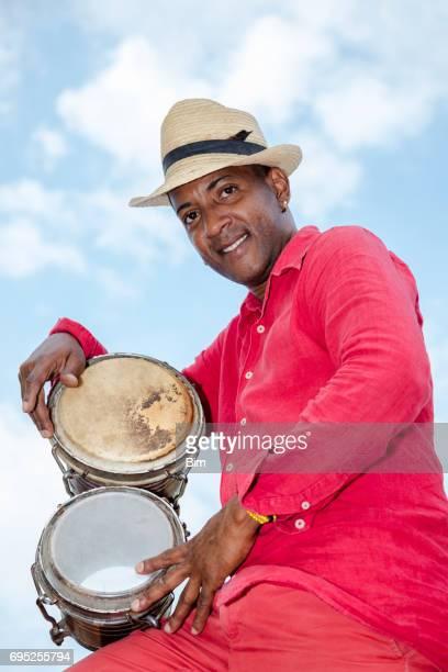 Professional Cuban Conga Drum Player