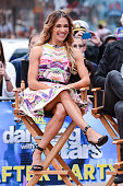 Professional dancer Allison Holker tapes an interview at 'Good Morning America' at ABC Times Square Studios on May 20 2015 in New York City