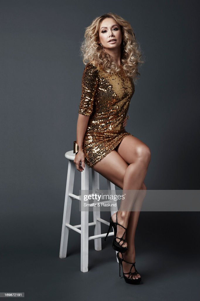 Professional dancer and cast member of the reality competition show 'Dancing with the Stars' Kym Johnson is photographed for Us Weekly on May 23, 2013 in Los Angeles, California. ON