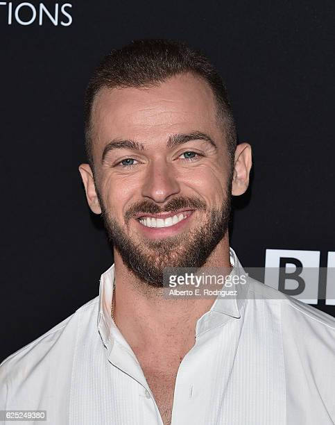Professional dancer Artem Chigvintsev attends ABC's 'Dancing With The Stars' Season 23 Finale at The Grove on November 22 2016 in Los Angeles...