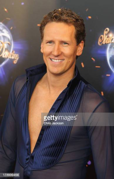 Professional dancer Brendan Cole arrives at the Strictly Come Dancing 2011 press launch at BBC Television Centre on September 7 2011 in London England