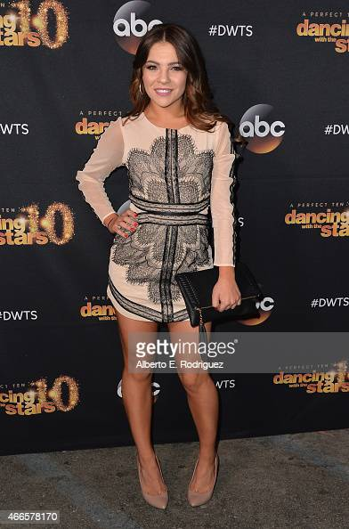 Professional dancer Brittany Cherry attends the premiere of ABC's 'Dancing With The Stars' season 20 at HYDE Sunset Kitchen Cocktails on March 16...