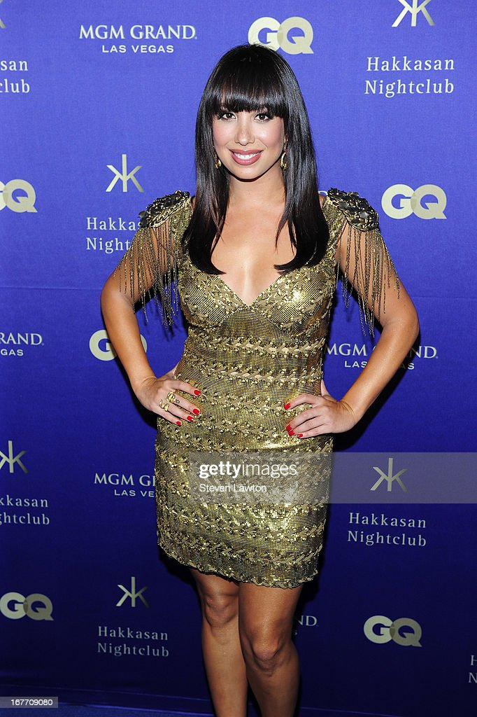Professional dancer Cheryl Burke arrives at the grand opening of Hakkasan Las Vegas Restaurant and Nightclub at the MGM Grand Hotel/Casino on April 27, 2013 in Las Vegas, Nevada.