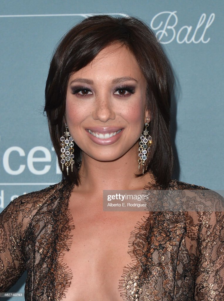 Professional dancer Cheryl Burke arrives to the 2014 UNICEF Ball Presented by Baccarat at the Regent Beverly Wilshire Hotel on January 14, 2014 in Beverly Hills, California.