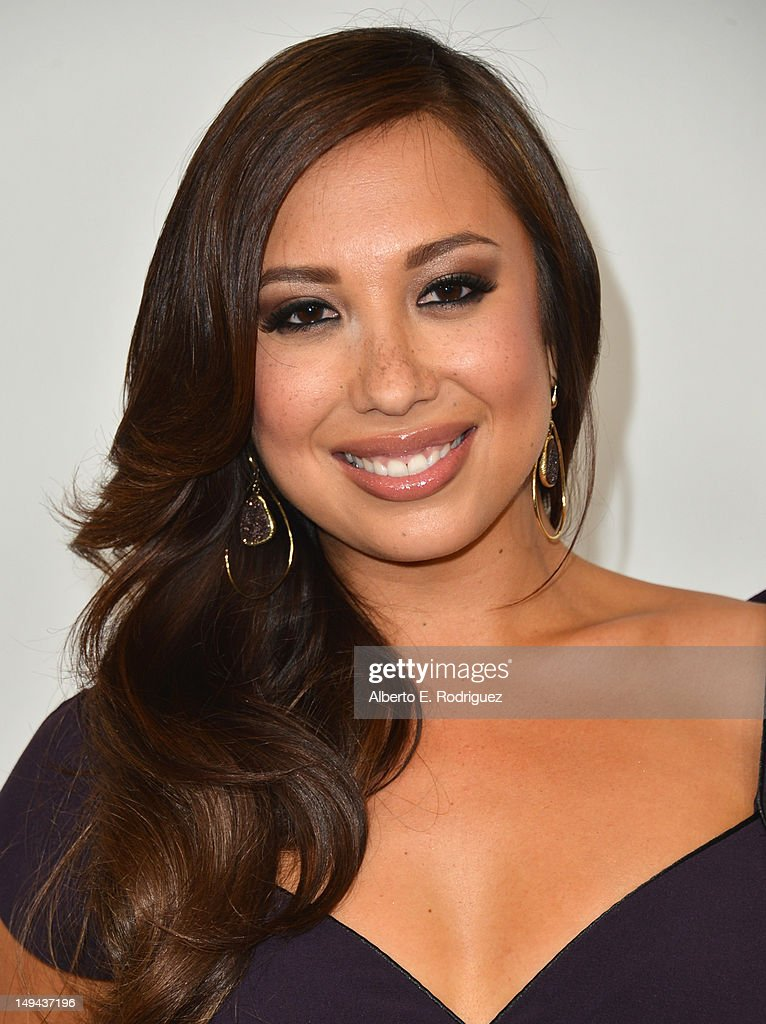 Professional dancer Cheryl Burke arrives to the Disney ABC Television Group's 2012 'TCA Summer Press Tour' on July 27, 2012 in Beverly Hills, California.