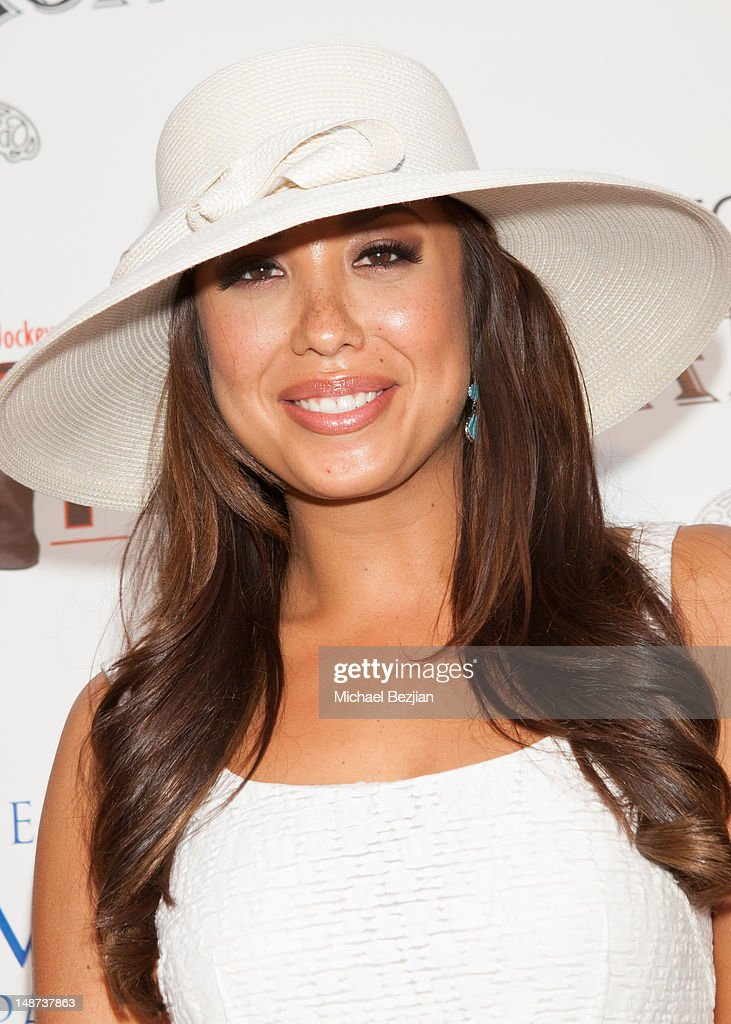 Professional dancer Cheryl Burke attends Jockey For A Cause on July 18 2012 in Los Angeles California