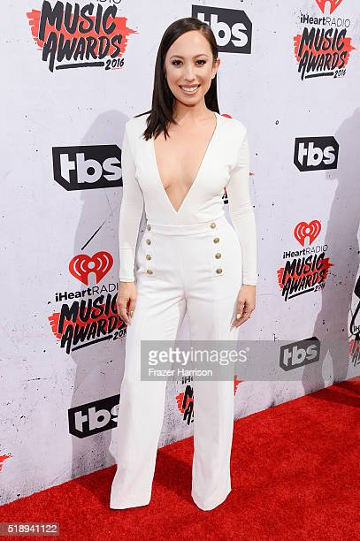 Professional dancer Cheryl Burke attends the iHeartRadio Music Awards at The Forum on April 3 2016 in Inglewood California