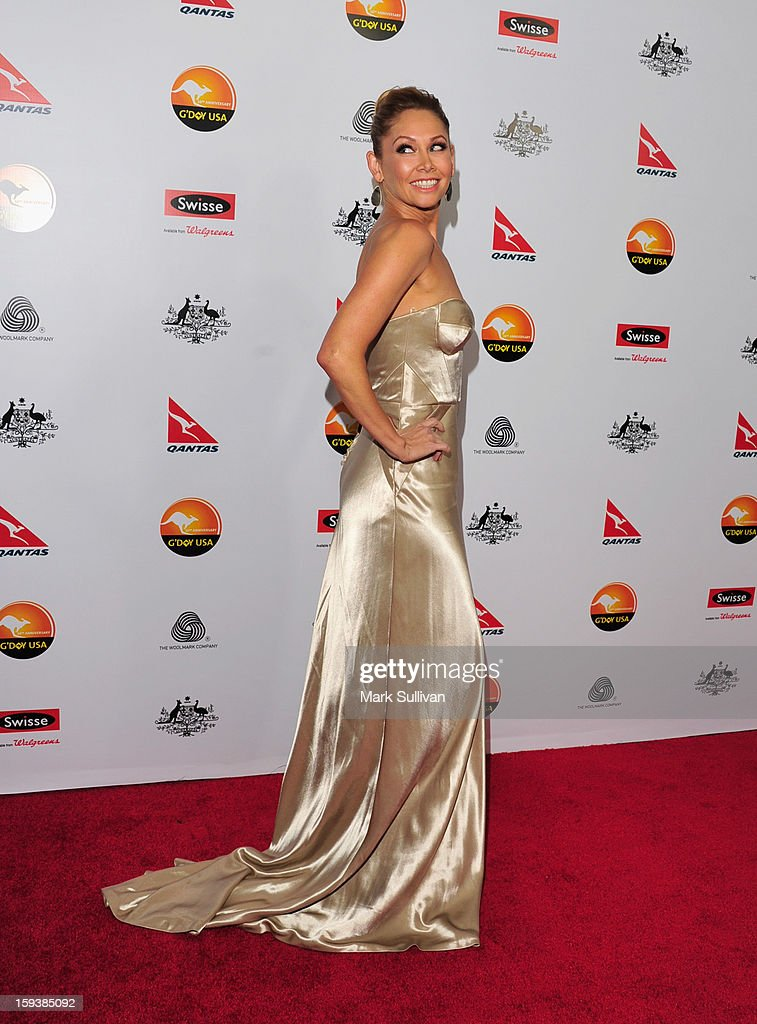 Professional dancer Kym Johnson arrives for the G'Day USA Black Tie Gala held at at the JW Marriot at LA Live on January 12, 2013 in Los Angeles, California.