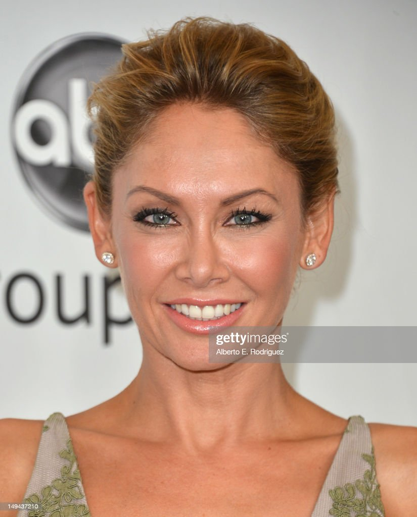 Professional dancer Kym Johnson arrives to the Disney ABC Television Group's 2012 'TCA Summer Press Tour' on July 27, 2012 in Beverly Hills, California.