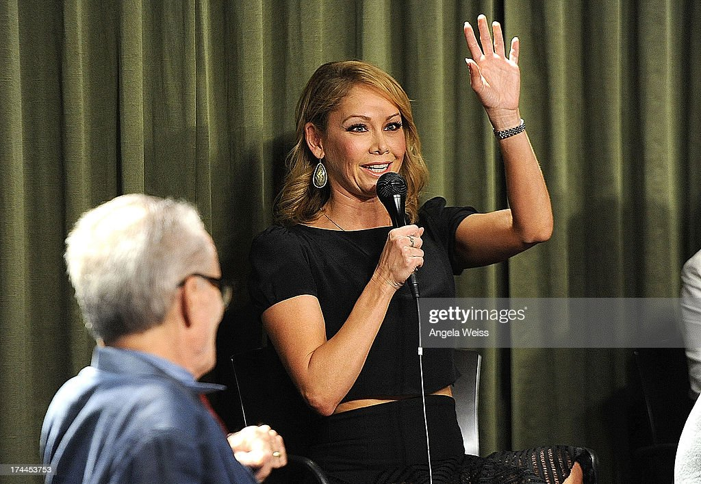 Professional dancer <a gi-track='captionPersonalityLinkClicked' href=/galleries/search?phrase=Kym+Johnson+-+Dancer&family=editorial&specificpeople=2577423 ng-click='$event.stopPropagation()'>Kym Johnson</a> attends the Screen Actors Guild Foundation, SAG-AFTRA and Career Transitions for Dancers presents 'Dancers Forum' with Nigel Lythgoe, Cat Deeley, Adam Shankman, <a gi-track='captionPersonalityLinkClicked' href=/galleries/search?phrase=Kym+Johnson+-+Dancer&family=editorial&specificpeople=2577423 ng-click='$event.stopPropagation()'>Kym Johnson</a>, tWitch and more at SAG Foundation Actors Center on July 25, 2013 in Los Angeles, California.