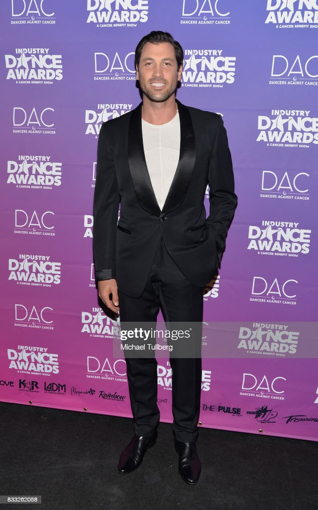 Professional dancer Maksim Chmerkovskiy attends the 2017 Industry Dance Awards and Cancer Benefit Show at Avalon on August 16, 2017 in Hollywood, California.
